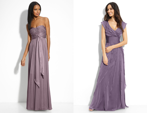 mila kunis purple dress knock off