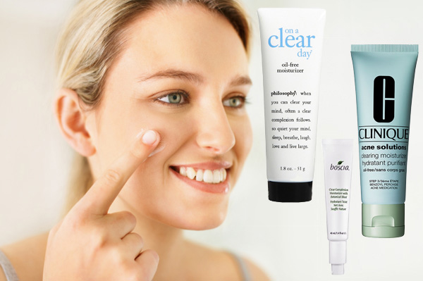 article free moisturizers acne prone skin