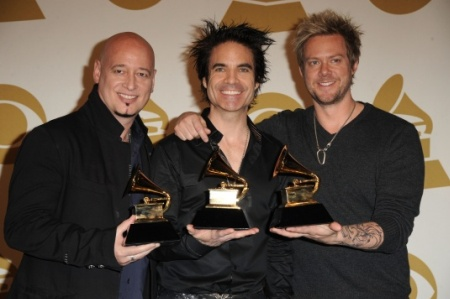Train wins at the Grammys