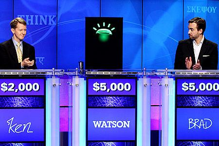 Watson wins big on Jeopardy
