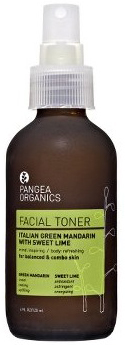 Pangea Organics Italian Green Mandarin with Sweet Lime Facial Toner