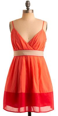 Pink Citrus Dress