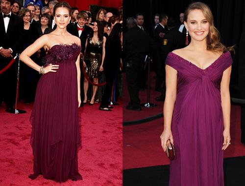 jessica alba 2011 blue dress. Jessica Alba-Natalie Portman