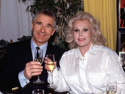 Zsa Zsa Gabor and husband