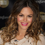 Rachel Bilson with long ombre hairstyle