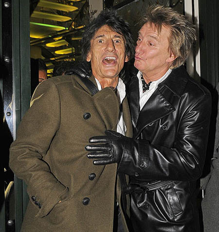Rod Stewart Ron Wood