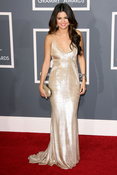 Selena Gomez at Grammy Awards 2011