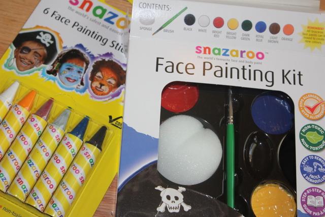 Face Paint for Super Bowl