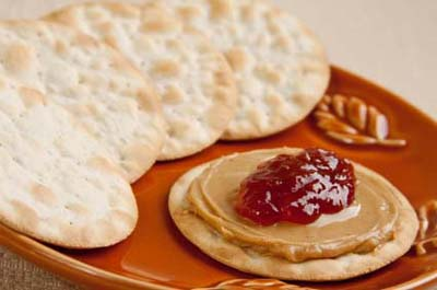 Peanut Butter and Jelly on a Cracker