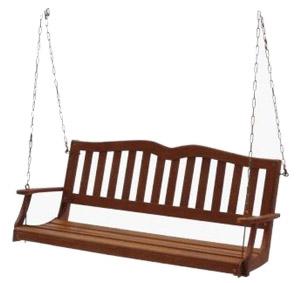 Sequoia Porch Swing, Hardwood Finish