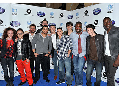 American Idol top 12 boys