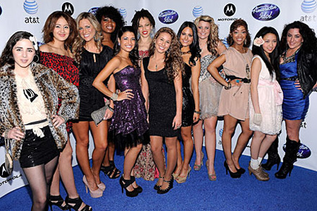 Top 12 American Idol girls