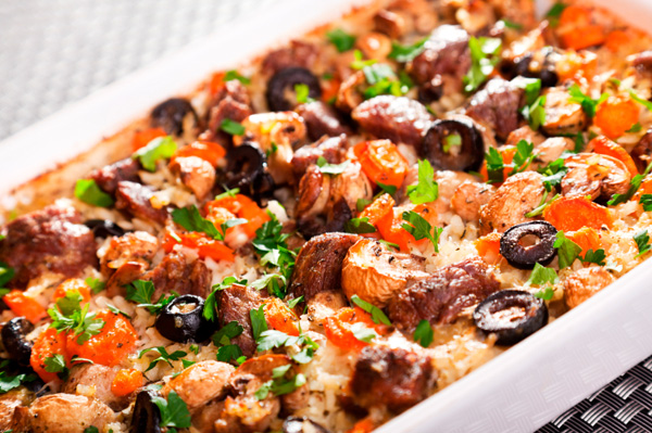 Mouthwatering rice casseroles