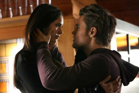 Nina and Paul on The Vampire Diaries