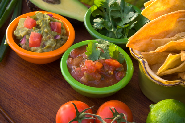 Variety of salsa