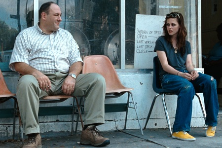 James Gandolfini and Kristen Stewart in Welcome to the Rileys