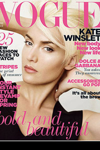 Kate Winslet on Vogue