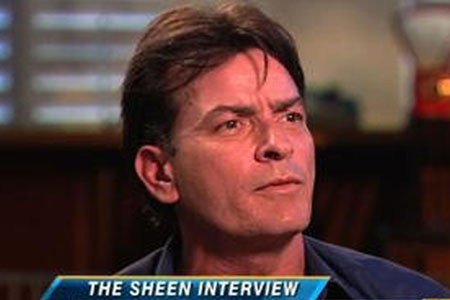 Charlie Sheen Good Morning America interview