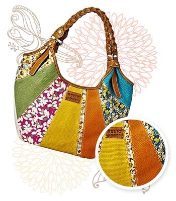 Colorblock handbag, $58 at Kohl's