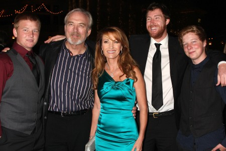 Jane Seymour and her family