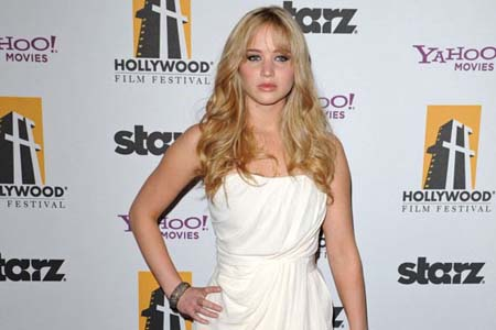 Jennifer Lawrence is Katniss