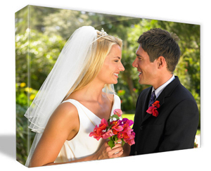Photo canvas art