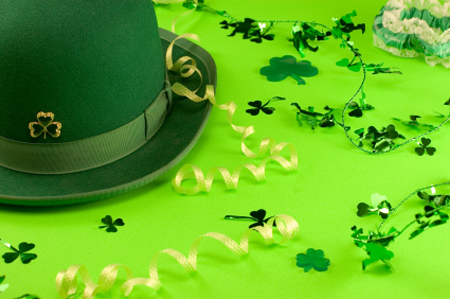 St. Patrick's Day Dinner Party Decorations