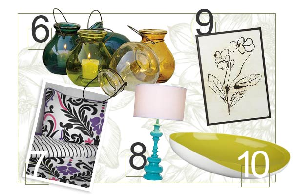 Stylish spring home accessories