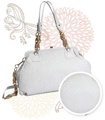 Elliott Lucca white satchel, $198 at Nordstrom