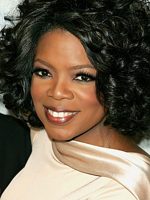 Oprah's gorgeous hairstyle