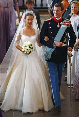 pictures of royal wedding dresses. Princess Marie#39;s royal wedding