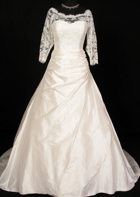 Princess Marie's royal wedding dress