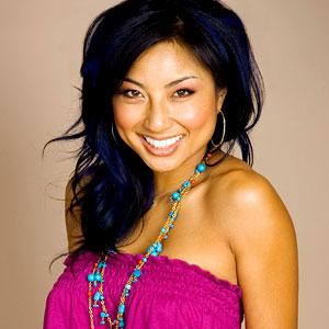 Stylist Jeannie Mai shares her tips for wearing colorful accessories
