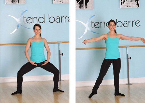 Xtend Barre workout moves