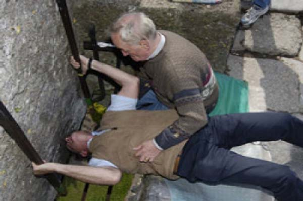 I kissed the Blarney Stone