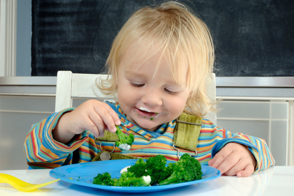 Getting your kids to eat veggies