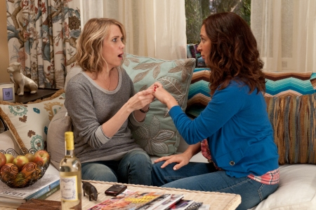 Kristen Wiig and Maya Rudolph in Bridesmaids