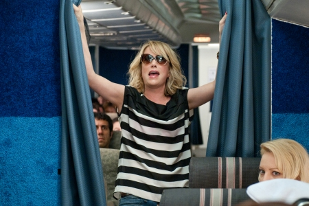 Kristen Wiig makes an entrance in Bridesmaids!