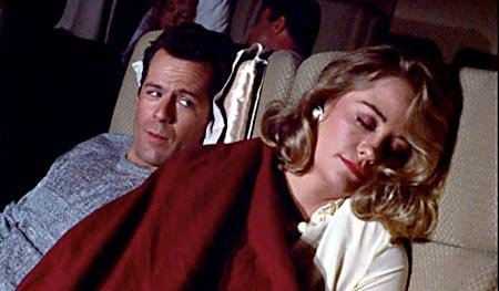 Bruce Willis and Cybil Shephard in Moonlighting