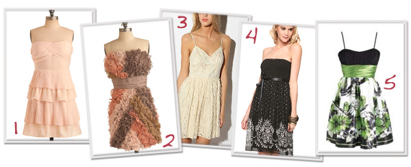 Budget friendly prom dresses
