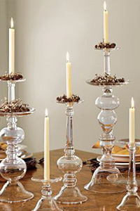 Light candles to save energy and go green