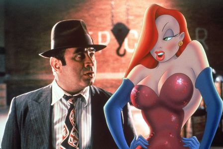 Jessica Rabbit's red hairstyle