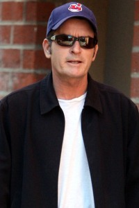 Charlie Sheen rallies for Japan!