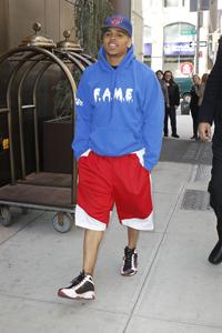 Chris Brown says goodbye