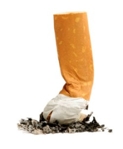 Stop smoking to prevent wrinkles