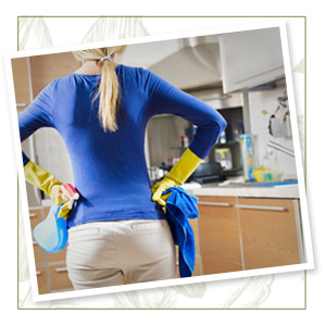 Clean the kitchen