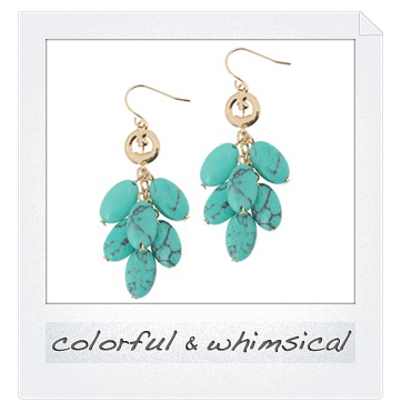 Colorful and whimsical accessories