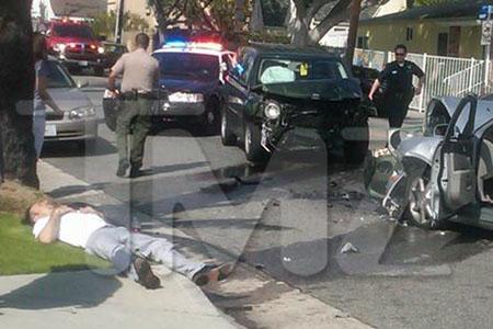 David Arquette taken to hospital