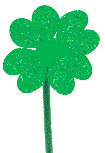 DIY Shamrock craft
