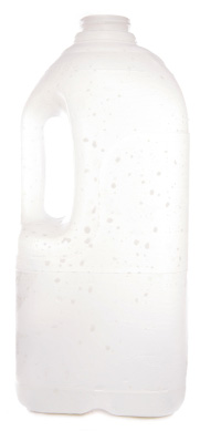 Milk jug green house
